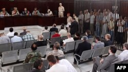 Суд над 19 украінцамі, 3 беларусамі і 2 расейцамі, Трыпалі, 4 чэрвеня 2012 году