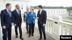 Британия, АКШ, Франция, Германия, Италия жетекчилери.