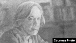 Анна Баркова. 1970-е годы.