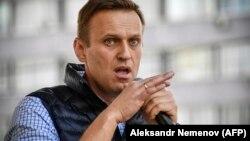 Рускиот опозициски лидер Алексеј Навални,