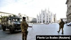 Милан в дни карантина, март 2020
