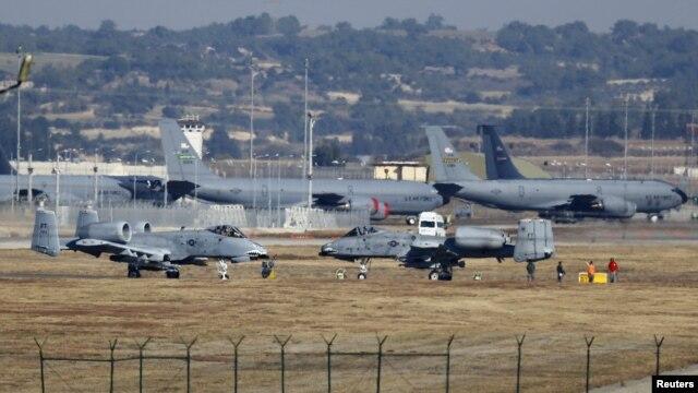 Американські військові літаки на авіабазі Інджирлік біля міста Адани, архівне фото