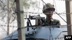 Indi -- Patrollimi i forcave të sigurisë në rajonin e Kashmirit