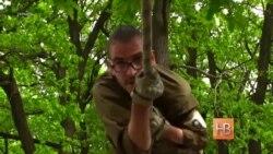 """Тренировки рекрутов батальона """"Азов"""""""