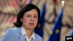 Věra Jourová, az Európai Bizottság alelnöke