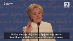 Clinton - Trump: Sumnjičenja oko Putina
