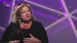 Галина Павловська, відома чеська письменниця, сценаристка і телеведуча