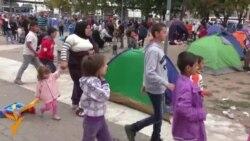 08.09.2015 Хуманитарна помош во Белград, протести во Пешавар