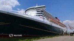Queen Mary 2 gəmisi təmirdən sonra okeanda