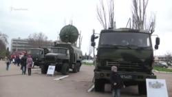 Выставка российской боевой техники ко Дню войск ПВО в Севастополе (видео)