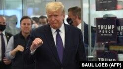 Доналд Трамп во Вирџинија