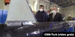 Айга учуруу долбоору үчүн колдонула турган түркиялык гибрид ракетаны тааныштыруу маалы. Стамбул. 28.2.2021.