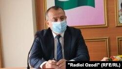 Маъруфҷон Ҳоҷибоев, муовини сардори раёсати тандурустии вилояти Суғд