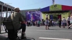 Sărbătoare și proteste la Chișinău de ziua independenței