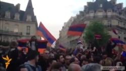 Օլանդը մասնակցեց Հայոց ցեղասպանության զոհերի ոգեկոչման արարողությանը Փարիզում