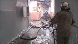Zapaljena škola u Donjecku, okršaji ne jenjavaju