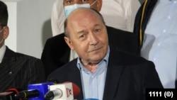 Traian Băsescu s-a arătat mulţumit de rezultatul PMP , circa 7 procente