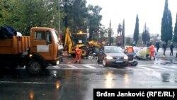 Policija prekinula demonstracije u Podgorici