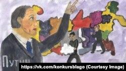 Рисунок Вероники Мадюкиной, 14 лет