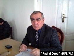 Абдуҷон Таваккалзода, раиси ноҳияи Панҷ.