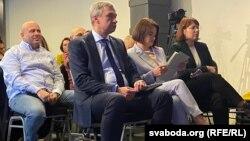 Павал Латушка, Сьвятлана Ціханоўская і Вольга Кавалькова
