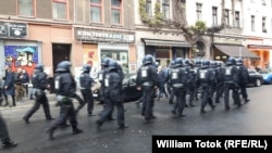 Poliția, gata de intervenție