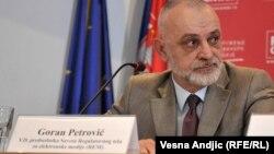"""REM ima obavezu da dostavi """"samo"""" izveštaj o broju političkih oglasnih poruka u kampanji: Goran Petrović"""