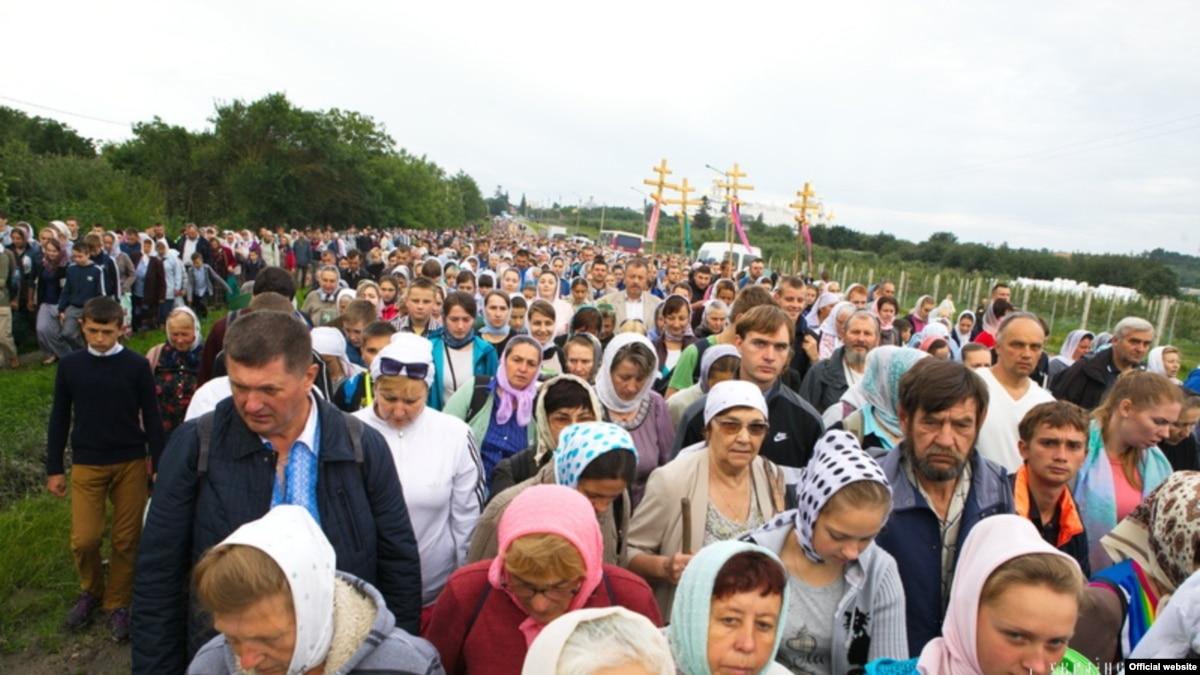 """Результат пошуку зображень за запитом """"Плакати з Миколою ІІ та Кирилом: що відбувалося на хресній ході Московського патріархату"""""""