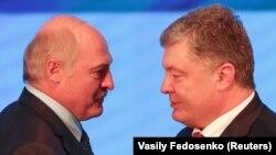 Президенти України і Білорусі під час зустрічі у Гомелі 26 жовтня 2018 року