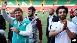 Кадыров и Салах