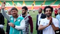 Ramzan Kadirov i Mohamed Salah
