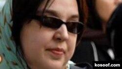 Сусан Тахмасеби, иранская активистка за права женщин.