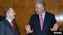 Valeriu Lazăr și Adrian Videanu