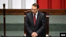 Radoslaw Sikorski, kryetar i Parlamentit polak.