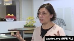 Amnesty International халықаралық құқық қорғау ұйымының Орталық Азиядағы кеңесшісі Татьяна Чернобиль. Нұр-Сұлтан, 11 желтоқсан 2019 жыл.