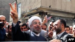 Хасан Рохани. Тегеран, 14 маусым 2013 жыл.