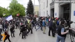 Pro-Russian Demonstrators Seize Government Building In Luhansk