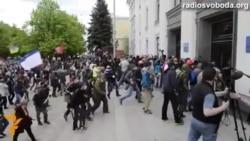 Луганск: штурм администрации