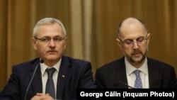 Liderii UDMR și PSD