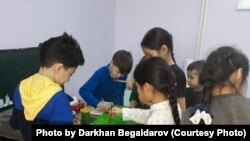 Ученики Дархана Бегайдарова.