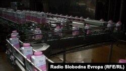 Fabrikë qumështi në Maqedoni