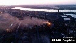 Найбільші викиди на заводах у Кам'янському відбуваються вночі