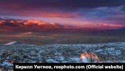Горная тундра в Момском районе Якутии