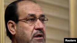 The bloc includes Prime Minister Nuri al-Maliki's State of Law and the Iraqi National Alliance.