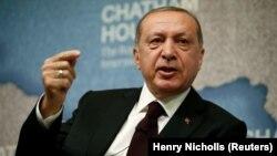 Presidenti turk, Recep Tayyip Erdogan.