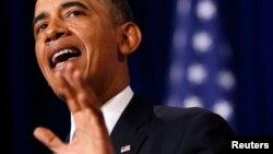 Президент Обама говорит о роли американских разведслужб. Вашингтон, 17 января 2014 года.