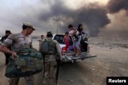Adamlar Mosuldan gaçýarlar