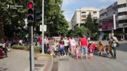 Ulice Mostara u bojama Hrvatske