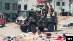 Snage bosanskih Srba u Srebrenici, 16.7.1995.