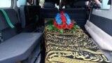 Tahir Dawar's dead body was transported from eastern Afghanistan to northwestern Pakistan on November 15.